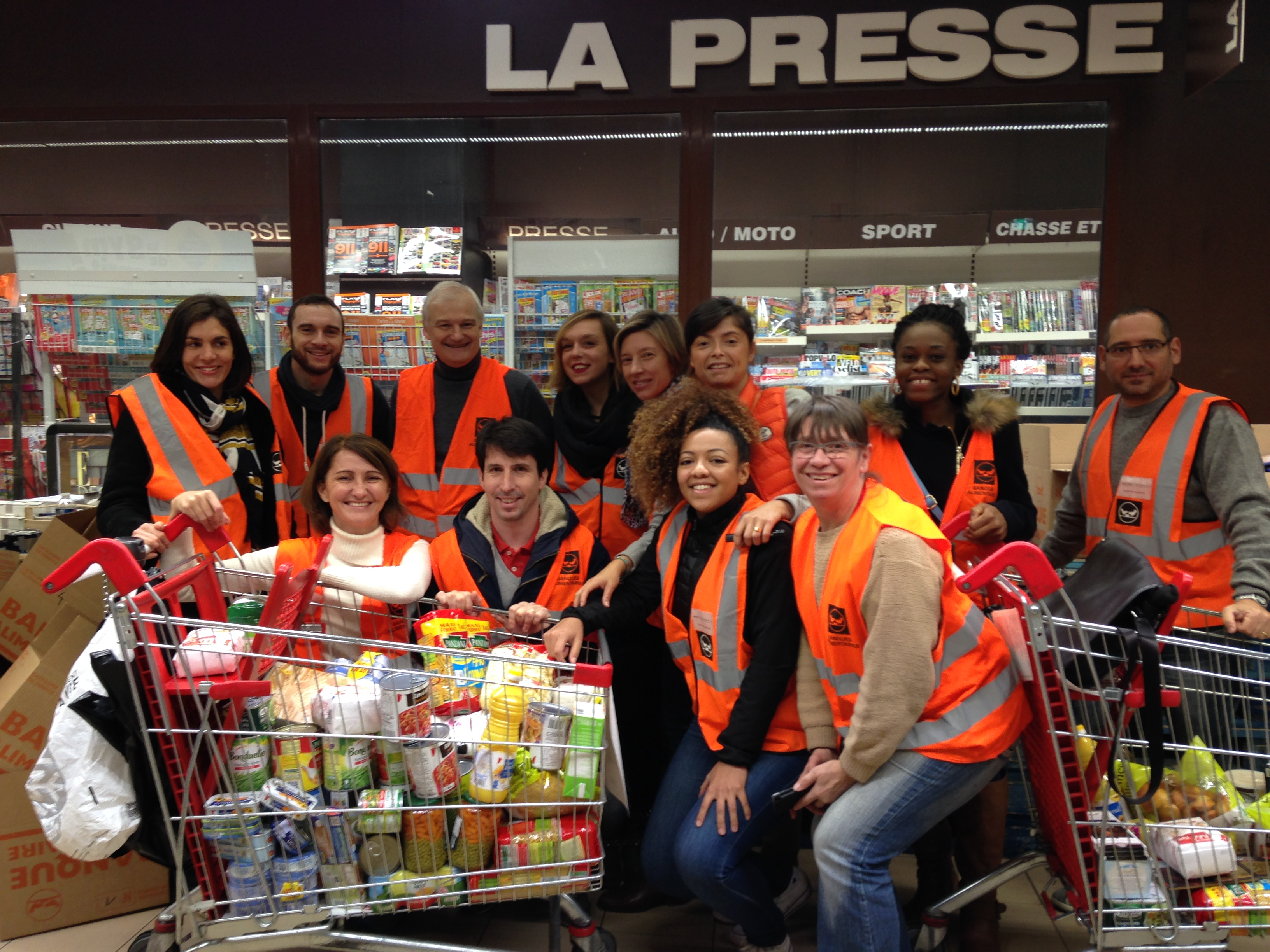Collection nationale Auchant Velizy Banques Alimentaires